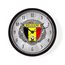 Belgium Soccer Wall Clock