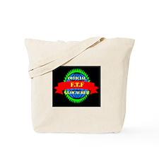 FTF GREEN/BLACK Tote Bag