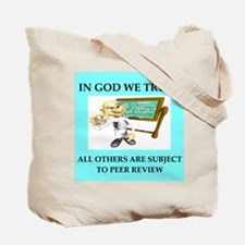 peer review gifts t-shirts Tote Bag