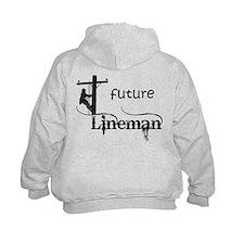 Future Lineman Hoodie