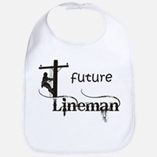 Future Lineman Bib