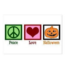 Peace Love Halloween Postcards (Package of 8)