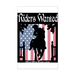 TEA Riders Wanted Posters