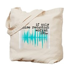 Noise Reduction Tote Bag