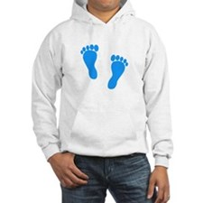 Blue Footprints (Boy, Due Dat Hoodie