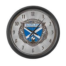 Soctland Soccer Large Wall Clock