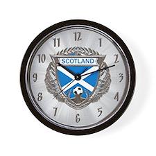 Soctland Soccer Wall Clock