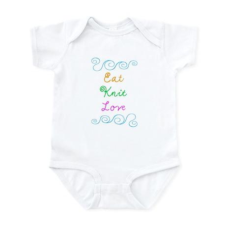 Eat Knit Love Infant Bodysuit
