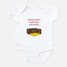 i love geology Infant Bodysuit