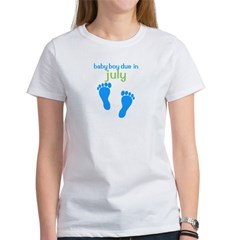 Blue Footprints (Boy, Due Dat Tee