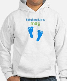 Blue Footprints (Boy, Due Dat Hoodie