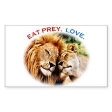 Eat Prey. Love. Decal