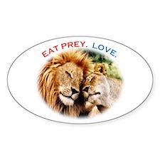 Eat Prey. Love. Decal
