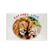 Eat Prey. Love. Rectangle Magnet