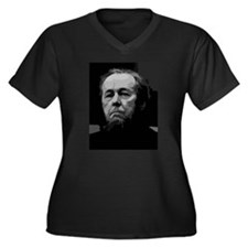 Aleksandr Solzhenitsyn Women's Plus Size V-Neck Da