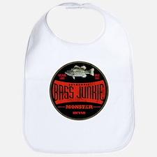 BASS FISHIN JUNKIE Bib