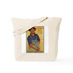 Finish the Job Poster Art Tote Bag