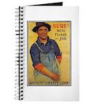 Finish the Job Poster Art Journal