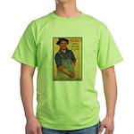 Finish the Job Poster Art Green T-Shirt