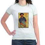Finish the Job Poster Art Jr. Ringer T-Shirt
