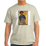Finish the Job Poster Art (Front) Ash Grey T-Shirt