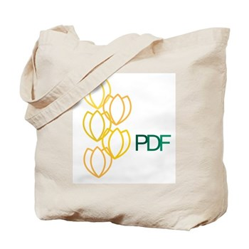 Parkinson's Disease Foundation's Tulip Tote Bag