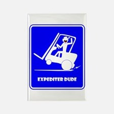 EXPEDITIN' DUDE-2 Fun Stuff Rectangle Magnet