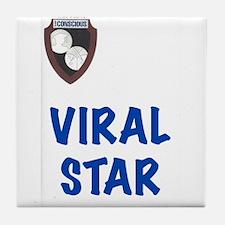 Viral Star Tile Coaster
