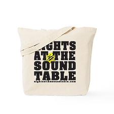 Funny Table talk Tote Bag