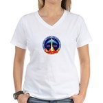 STS-133 Women's V-Neck T-Shirt