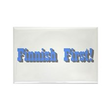 Finnish Pride Rectangle Magnet