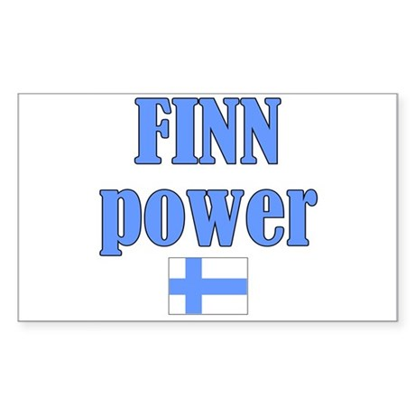 Finnish Pride Rectangle Sticker