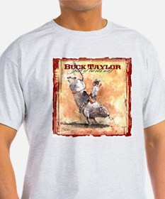 The Bull Rider Ash Grey T-Shirt