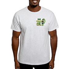 """""""I Survived"""" Ash Grey T-Shirt"""