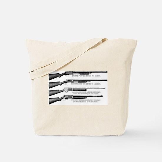 Shotguns Tote Bag