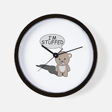 Teddy Stuffed Wall Clock