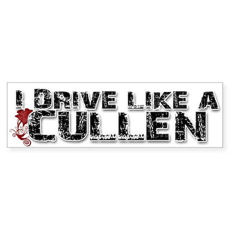 idrivelikeacullen Bumper Sticker