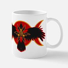 Crow Triple Goddess - Red Mug