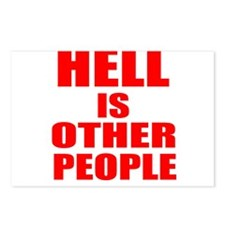 What is hell? Postcards (Package of 8)
