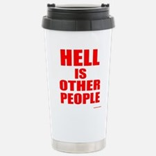 What is hell? Travel Mug