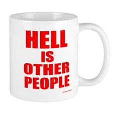 What is hell? Small Small Mug