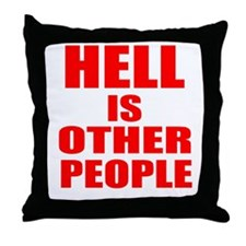 What is hell? Throw Pillow