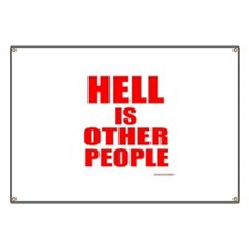 What is hell? Banner