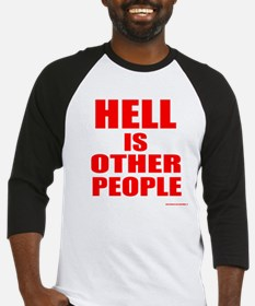 What is hell? Baseball Jersey