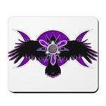 Crow Triple Goddess - Purple Mousepad