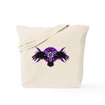 Crow Triple Goddess - Purple Tote Bag