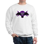 Crow Triple Goddess - Purple Sweatshirt