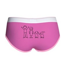 2 lop bunnies family Women's Boy Brief