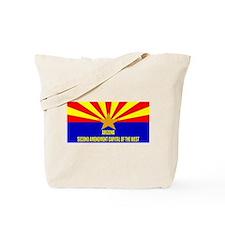 Arizona 2nd Amendment Capital Tote Bag