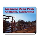 Japanese Deer Park Mousepad